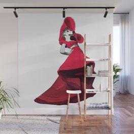 Lady PawPaw Wall Mural