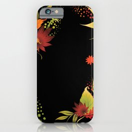 Autumn Leaves Medley  iPhone Case