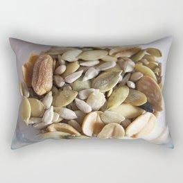 Salad mix of seeds Rectangular Pillow