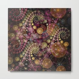 Magical dream, fractal abstract Metal Print