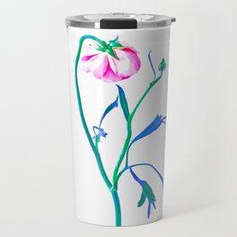 One Flower - Study 3. Back Travel Mug