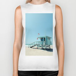 Rosecrans Tower in Manhattan Beach (El Porto) Biker Tank