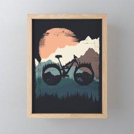Yety Enduro Framed Mini Art Print
