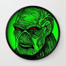SWAMP THING Wall Clock