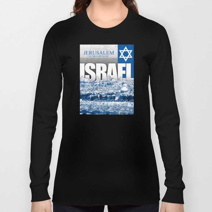 Jerusalem, Israel Long Sleeve T-shirt