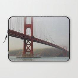 Golden Gate Fog Laptop Sleeve