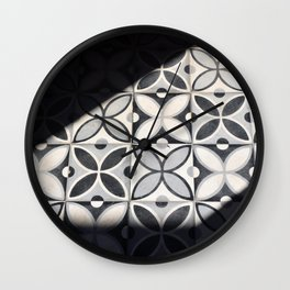 Playing with Light (Marrakech) Wall Clock