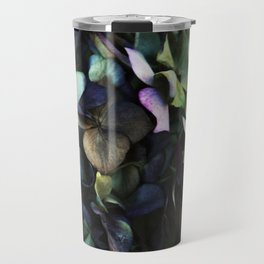 hydrangea I Travel Mug