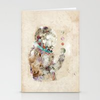 spaceman Stationery Cards featuring spaceman by bri.buckley