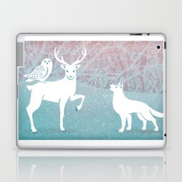 Winter In The White Woods Laptop & iPad Skin