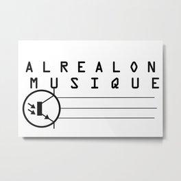 ALREALON MUSIQUE 2017 Metal Print