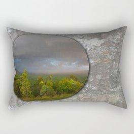 Approaching storm over Australian Landscape Rectangular Pillow
