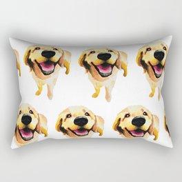 Good Boy / Yellow Labrador Retriever dog art Rectangular Pillow