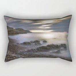 Bracelet Bay and Mumbles lighthouse Rectangular Pillow