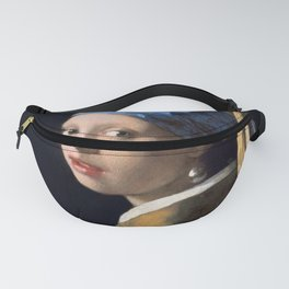 Johannes Vermeer - Girl with a Pearl Earring Fanny Pack