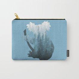 Misty Forest Koala Bear - Blue Carry-All Pouch