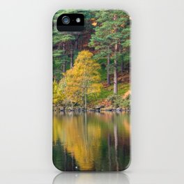 Autumn lake view (RR 174) iPhone Case