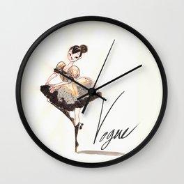 Vogue Ballerina! Wall Clock
