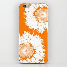 Real Galaxy Flowers iPhone & iPod Skin