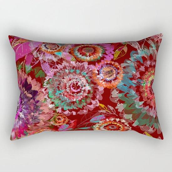 Floral abstract(54) Rectangular Pillow