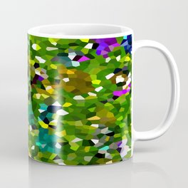 Pineapple Abstract Geometric Coffee Mug