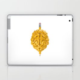 Pencil Brain Laptop & iPad Skin