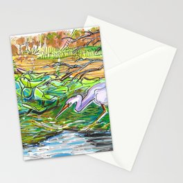 Floating Forest Stationery Cards