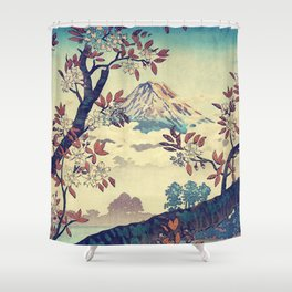 Suidi the Heights Shower Curtain