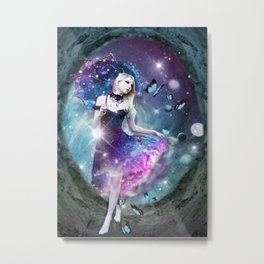 Ethereal keeper of worlds Metal Print