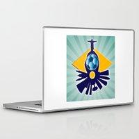 rio de janeiro Laptop & iPad Skins featuring Rio de Janeiro by siloto