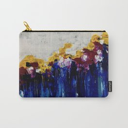 Always Flowers Carry-All Pouch