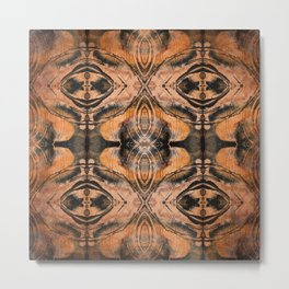 Sienna Ethnic Ink  Metal Print