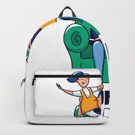 Girld Dad Quote Backpack