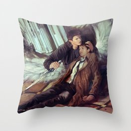 Supernatural Protecting something so Holy Throw Pillow