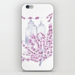 Spring in NYC iPhone Skin