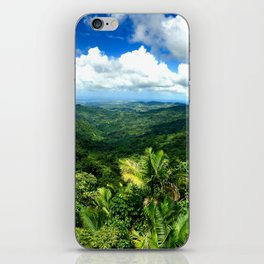 View From El Yunque iPhone Skin