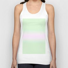 Pink and Green Unisex Tank Top