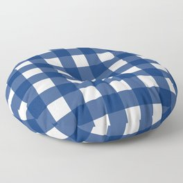 Gingham Girl Floor Pillow