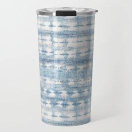 Rustic Indigo Travel Mug