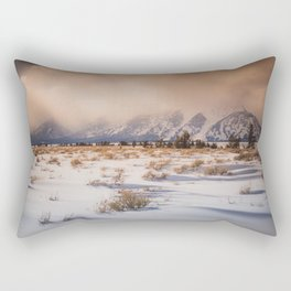 under the disguise of clouds Rectangular Pillow