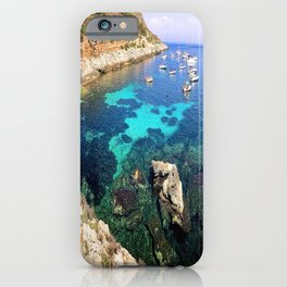 left my heart in sicily iPhone Case