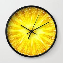 Manipura - Chakra 3 Wall Clock