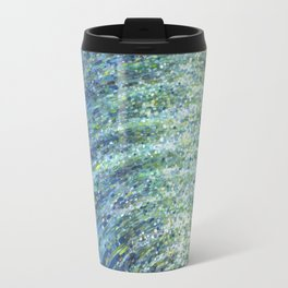 Shimmerin Ocean Wave Reflections Travel Mug