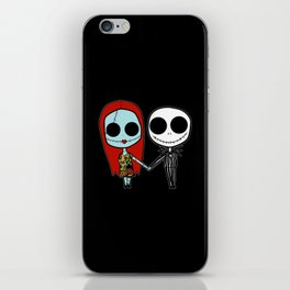 The Nightmare Before Christmas iPhone Skin