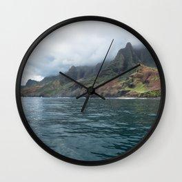 NaPali Coast No. 7 Wall Clock