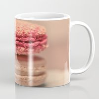 macaroons Mugs featuring Coconut Macaroons by Sweet Little Pixels