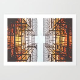 Abstract Architecture Artwork Art Print