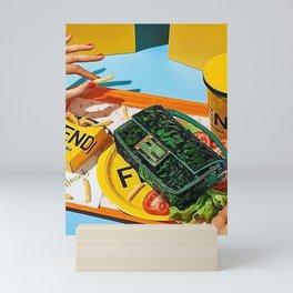 SNACK TIME Mini Art Print
