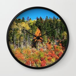 Standing out on the Hill Wall Clock