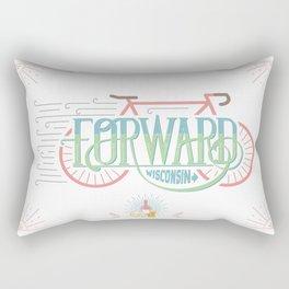 Forward Wisconsin Rectangular Pillow